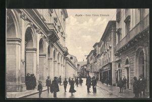 AK Aquila, Corso Vittorio Emanuele