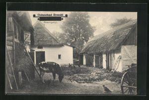 AK Rewahl / Ostseebad, Bauerngehöft