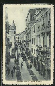 AK Sassari, Corso Vittorio Emanuele, Strassenpartie