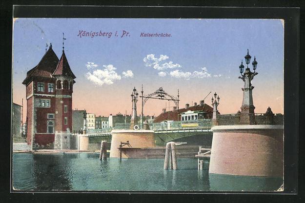 AK Königsberg, Kaiserbrücke