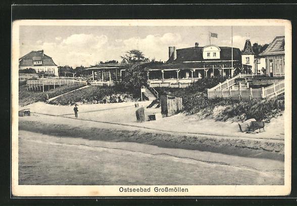 AK Grossmöllen, Villen am Strand