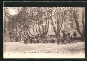 AK Annot, L` Hotel Grac et la Place