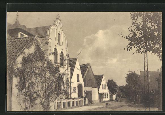 AK Tondern, Wiedaustrasse