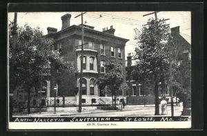 AK St. Louis, MO, Anti-Narcotin Sanitarium