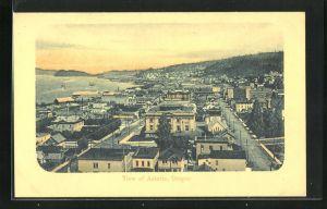 AK Astoria, OR, Gesamtansicht der Stadt
