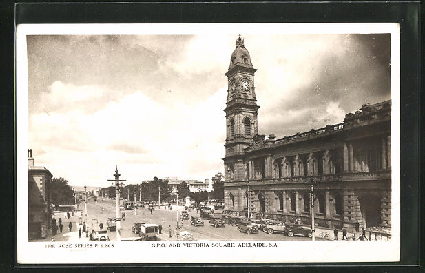 AK Adelaide, G.P.O. and Victoria Square
