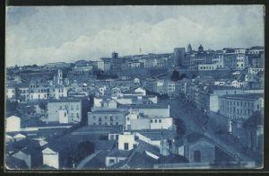 AK Cagliari, Gesamtansicht des Ortes