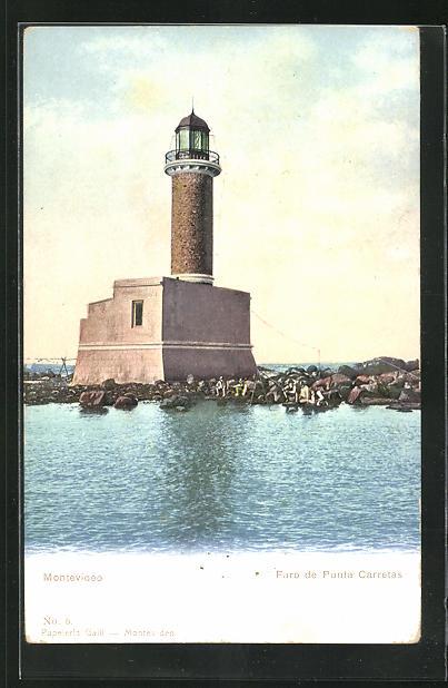 AK Montevideo, Faro de Punta Carretas, Leuchtturm