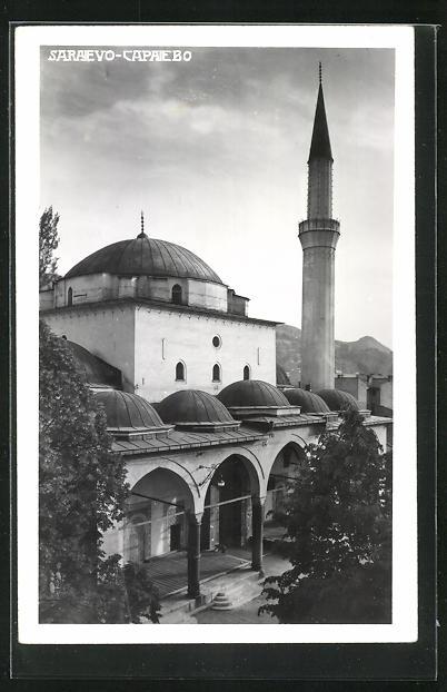 AK Sarajewo, Blick zur Moschee