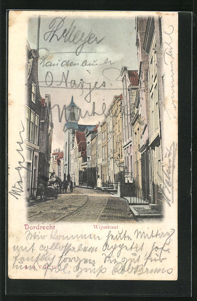 AK Dordrecht, Wijustraat, Strassenpartie