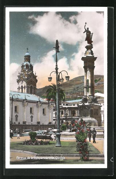 AK Quito, Parque de la Independencia