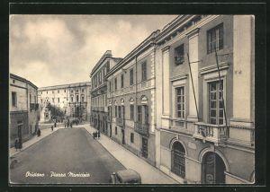 AK Oristano, Piazza Municipio, Ortspartie