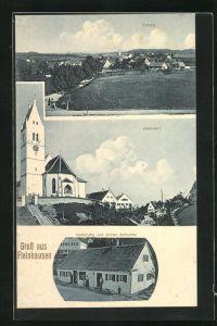 AK Fleinhausen, Handlung von Anton Schuster, Kirche im Oberdorf