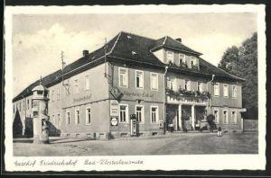 AK Bad-Klosterlausnitz, Gasthof Friedrichshof