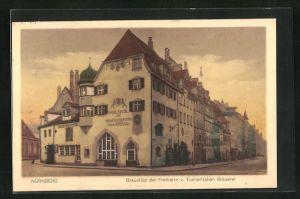 AK Nürnberg, Gasthaus Braustübl der Freiherrn v. Tucher'schen Brauerei