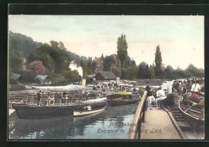 AK Maidenhead, Entrance to Boulters Lock
