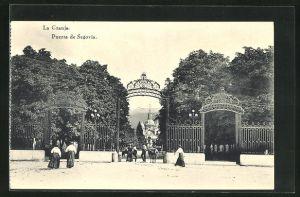 AK La Granja, Puerta de Segovia