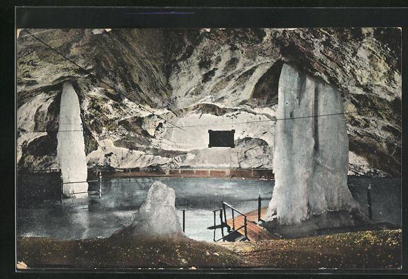 AK Dobsina, Inneres der Eishöhle