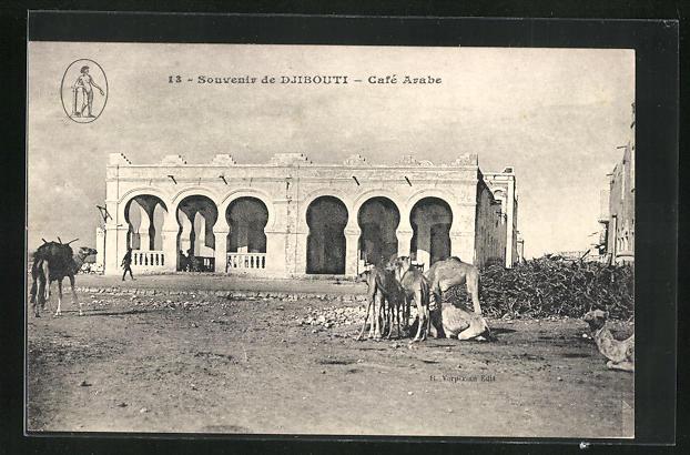 AK Djibouti, Cafè Arabe