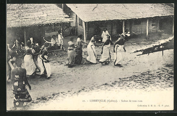 AK Libreville, Scène de tam-tam
