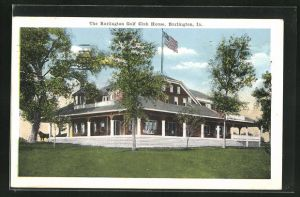 AK Burlington, IA, Golf Club House
