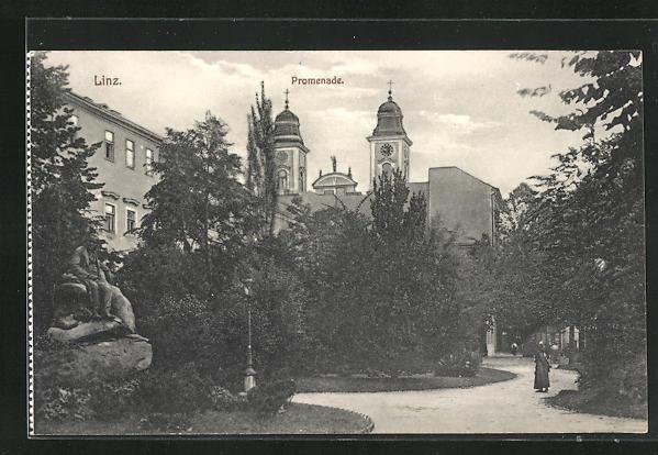 AK Linz, Promenade
