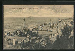 AK Ostseebad Rewahl, Strandpartie