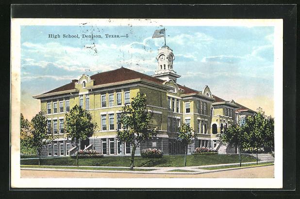 AK Denison, TX, High School, Strassenpartie