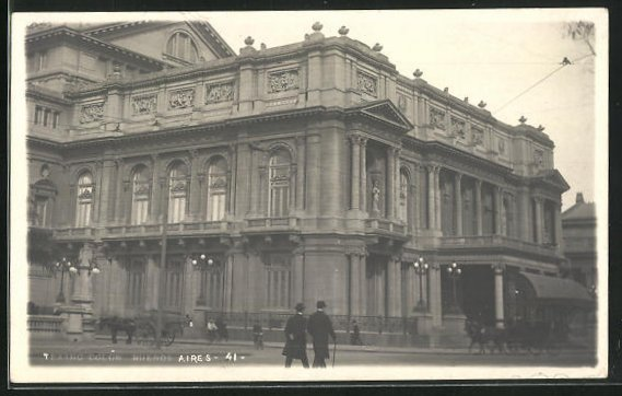 AK Buenos Aires, Teatro colon