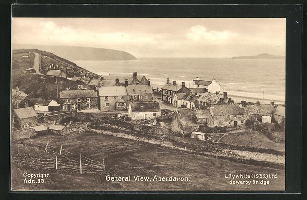 AK Aberdaron, General view, Gesamtansicht