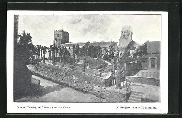 AK Market Lavington, Church and the Vicar, Ortspartie