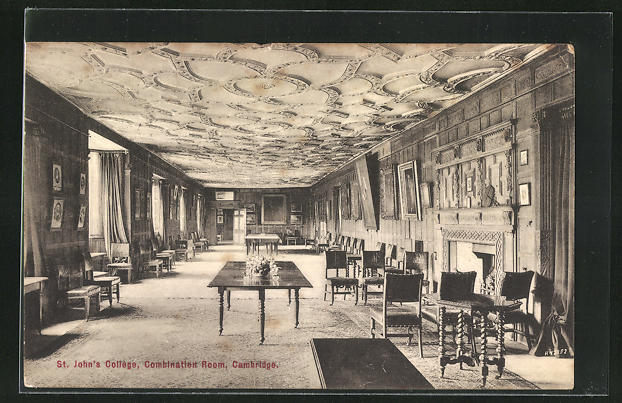 AK Cambridge, St. Johns College, Combination Room
