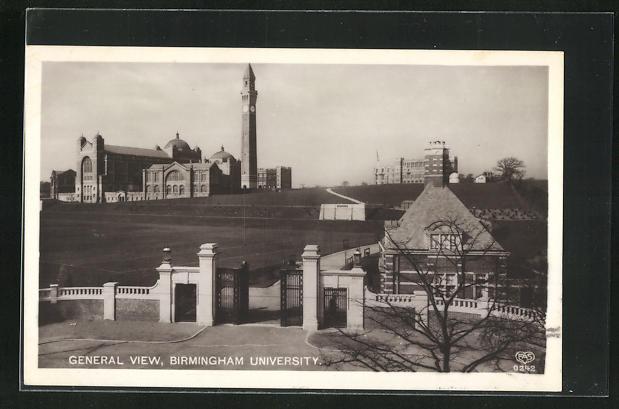 AK Birmingham, University, General view