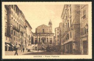 AK Ancona, Piazza Plebiscito, Strassenpartie