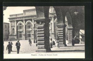 AK Pesaro, Portico del Palazzo Ducale
