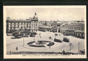AK Bari, Piazza Stazione, Palazzo della Gazzetta del Mezzogiorno