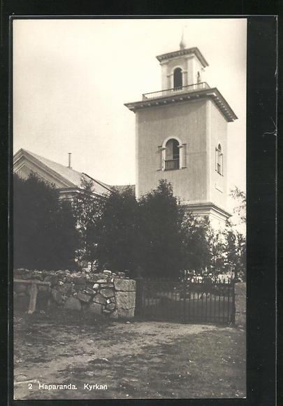 AK Haparanda, Kyrkan