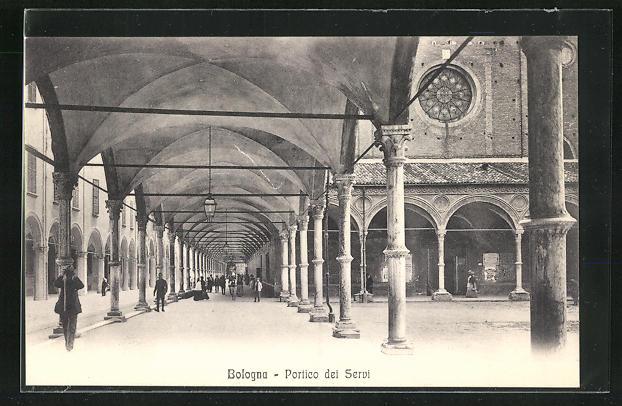 AK Bologna, Portico dei Servi