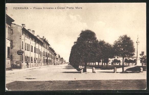 AK Ferrara, Piazza Ariostea e Corso Porta Mare