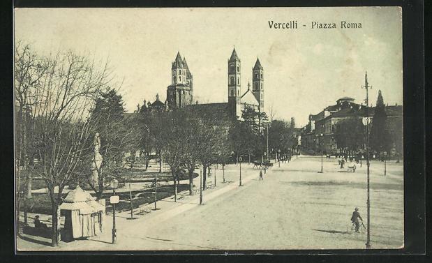 AK Vercelli, Piazza Roma