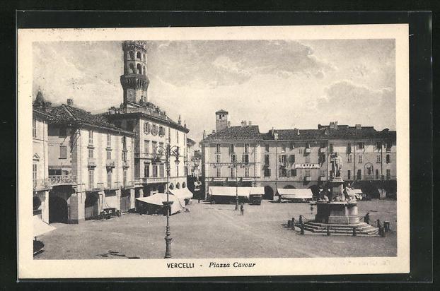 AK Vercelli, Piazza Cavour