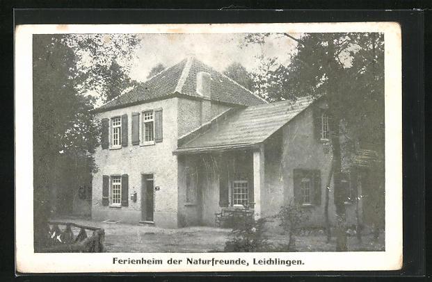 AK Leichlingen, Ferienheim der Naturfreunde