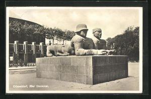AK Düsseldorf, 39er Denkmal