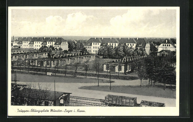 AK Munster-Lager, Gelände und Baracken des Truppen-Übungsplatz