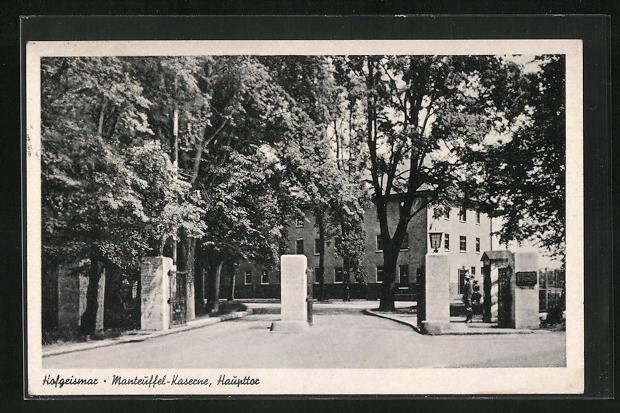 AK Hofgeismar, Manteuffel-Kaserne, Haupttor