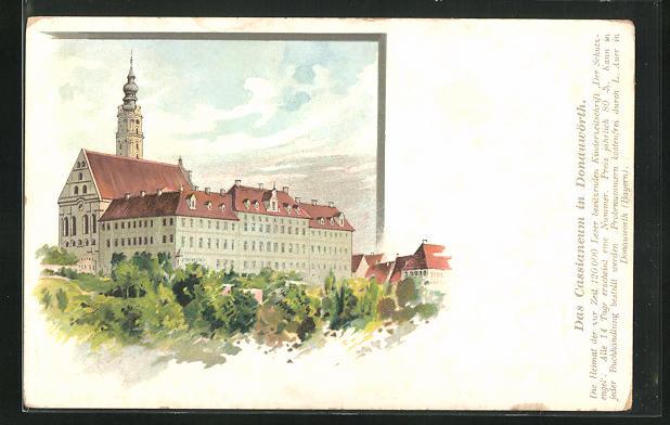Lithographie Donauwörth, Das Cassianeum