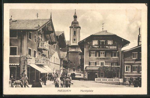 AK Miesbach, Marktplatz