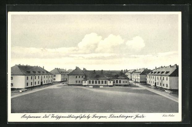 AK Bergen / Lüneburger Heide, Kaserne und Truppenübungsplatz