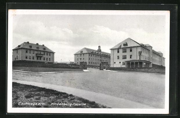 AK Eschwege a / W., Hindenburg-Kaserne