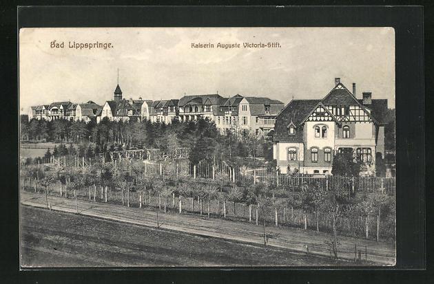 AK Bad Lippspringe, Kaiserin Auguste Victoria-Stift